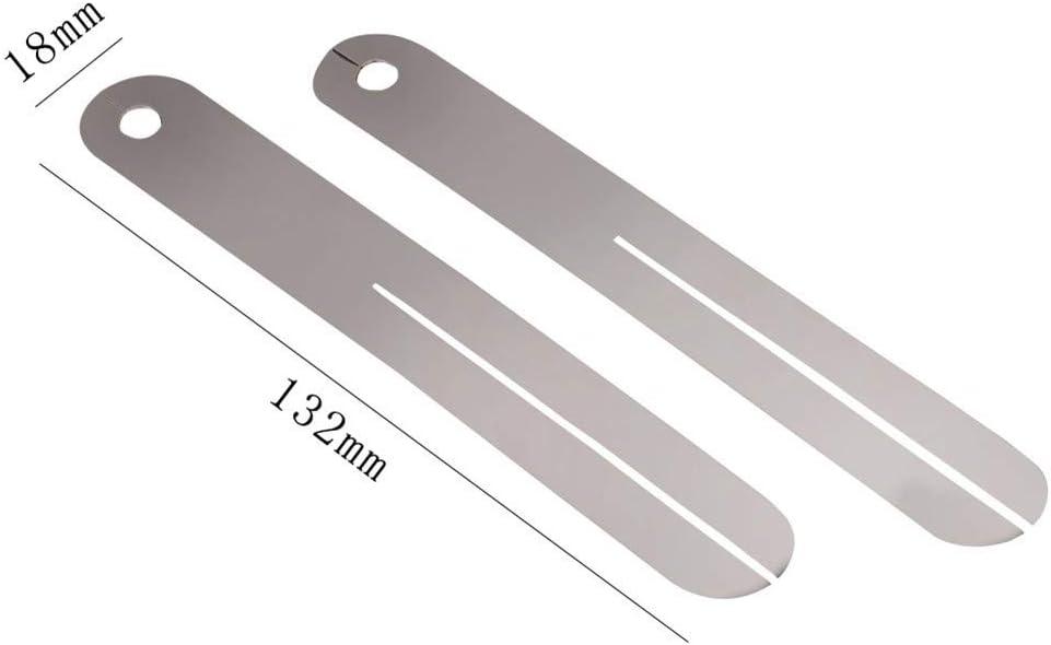 4X 2 Stuecke Bund Abzieher Griff Brett Griff Brett Fret Reparatur Werkzeug  N9M6