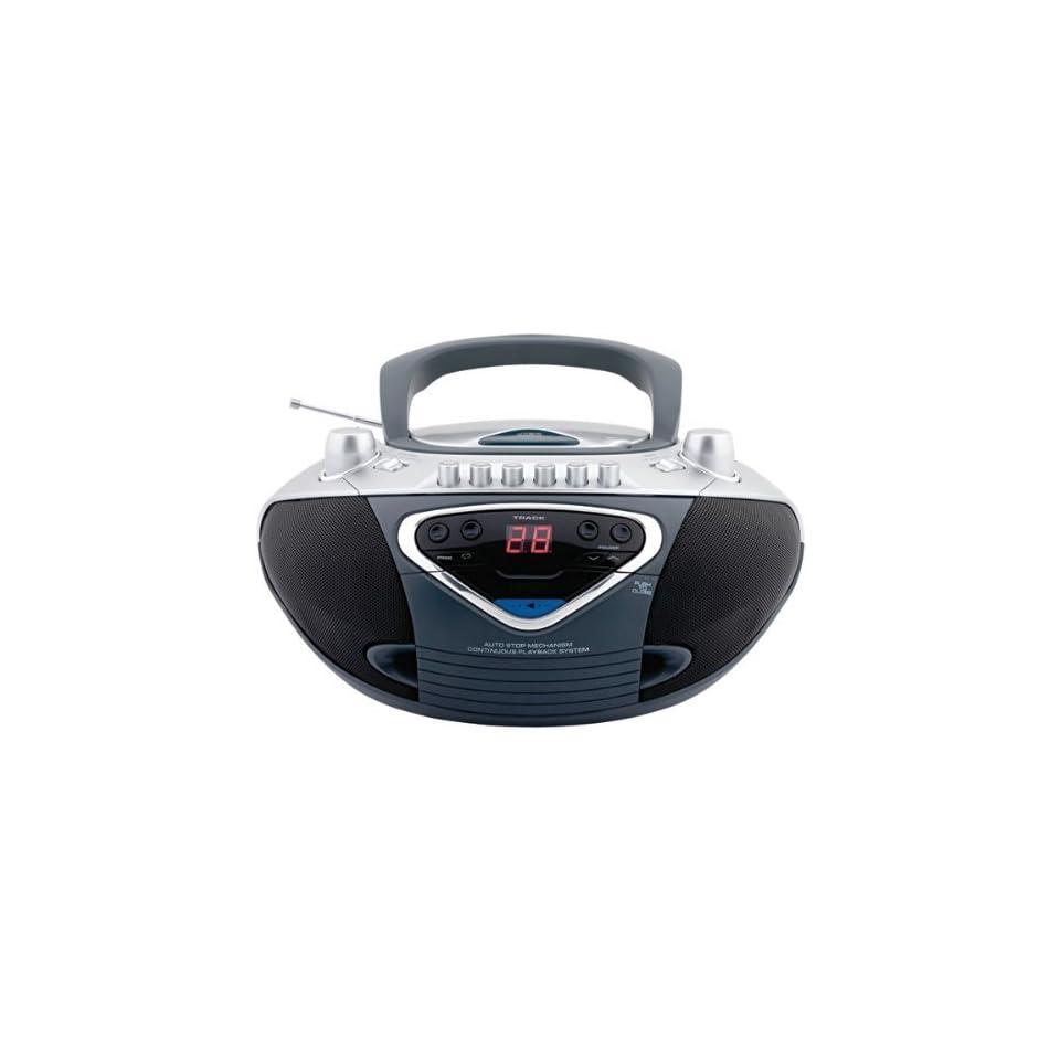 Unirex RX 947 Portable CD AM/FM Stereo Radio Cassette Player/Recorder