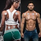 Muscle Stimulator EMS TENS Unit - FDA Cleared