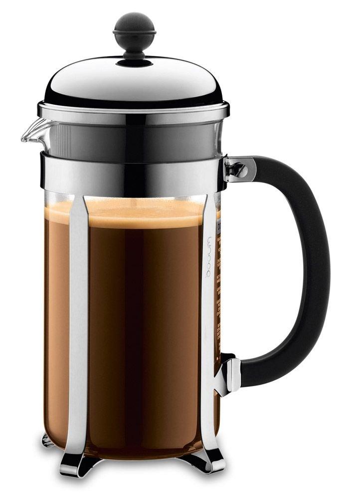 Dallmayr Bodum Chambord Kaffeebereiter (3 Tassen) und French Press ... | {Kaffeebereiter 25}