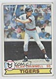 Alan Trammell COMC REVIEWED Good to VG-EX (Baseball Card) 1979 Topps #358
