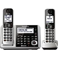 Panasonic KX-TGF372S DECT 2-Handset Landline Telephone (Certified Refurbished)