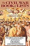 Civil War Book of Lists, Combined Books Editors, 0938289438