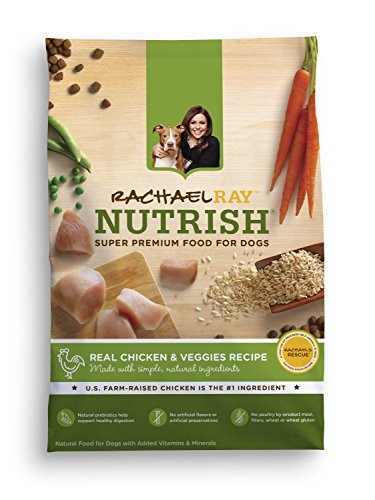 Rachael Ray Nutrish Natural Dry Dog Food, Chicken & Veggies Recipe, 40 lb