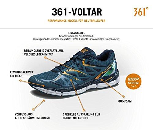 Neutralschuh Voltar 26 Laufschuh Frauen 361° Schuh Castlerock Damen Turnschuh Running Gr 42 5 Grau cm us 201620116 10 9059 Sportschuh q8g56t5w