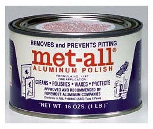 MET ALL TC-10 RV Trailer Camper Cleaners Aluminum Polish 1 Lb.