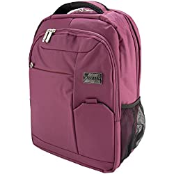 """VanGoddy Orchid Purple Executive Anti-Theft Laptop Backpack for Acer TravelMate / ChromeBook / Aspire / Spin / Swift 11"""" to 15inch"""