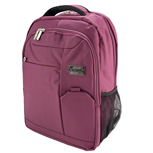 Acer Travelmate Tablet - VanGoddy Orchid Purple Executive Anti-Theft Laptop Backpack for Acer TravelMate/ChromeBook/Aspire/Spin/Swift 11