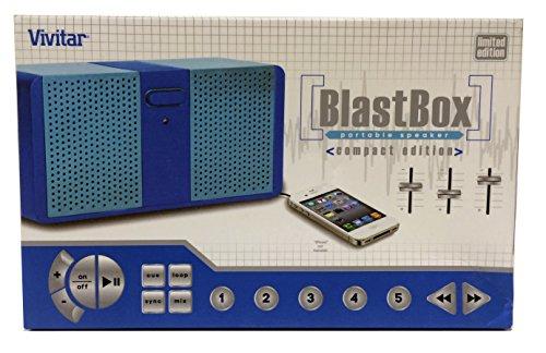BlastBox Portable Speaker ~ Blue