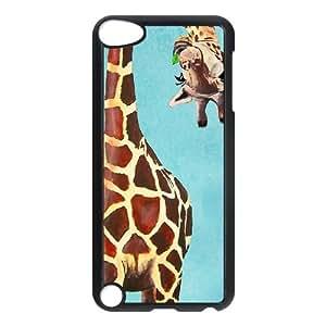 Giraffe DIY Cell Phone Case for Ipod Touch 5,Giraffe custom cell phone case series 10