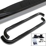 02 silverado step bars - Spec-D Tuning SSB3-SIV99XCBK-WB Silverado Sierra Extended Cab 3