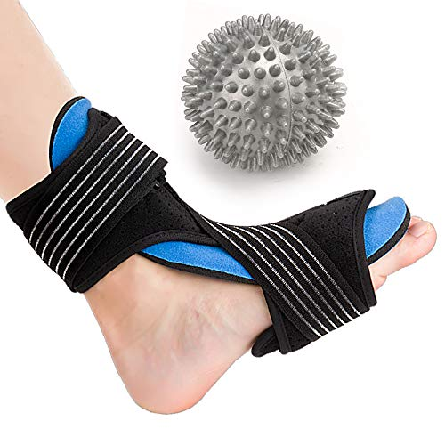 Plantar Fasciitis Night Splint, ST-Transfer Foot Splint Can Effectively Relief Achilles Tendonitis, Heel Spur and Foot Drop Nighttime Sleep Pain in Foot Patients, Fits Left and Right Foot