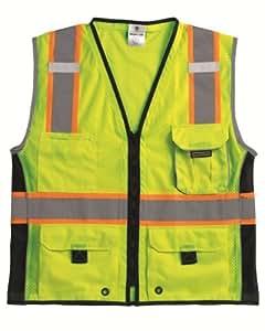 ML Kishigo 1513ultra-cool poliéster Black Series Heavy Duty Vest, extra large, Lime Size: Extra Large Color Lima, Model: 1513XL, Tools & Hardware Store