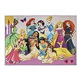 Gertmenian Disney Princess Rug Kids Party Carpet, 5x7 Large, Rainbow