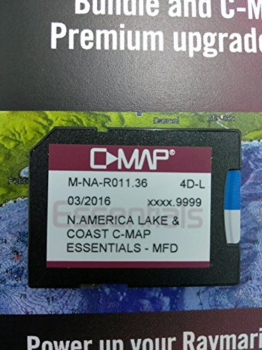 C-Map Essentials Bundle and C-MAP 4D Premium Chart Card for US Lake & Coast