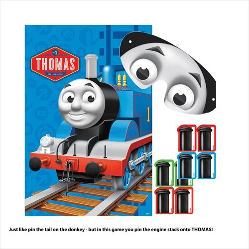 Fun Thomas The Tank Birthday Party Game Activity, 24