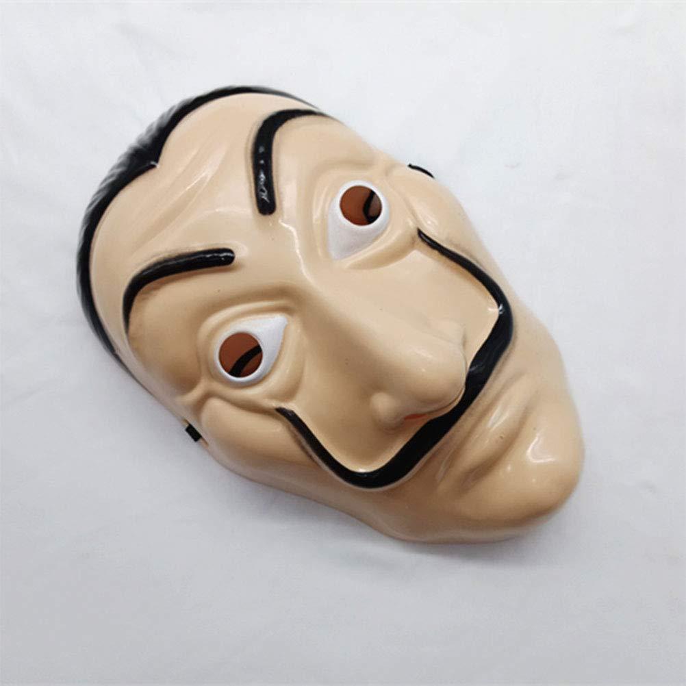 Maschera facciale Maschera per Film Cosplay Maschera per Feste realistica Phayee Maschera di Carta per la casa