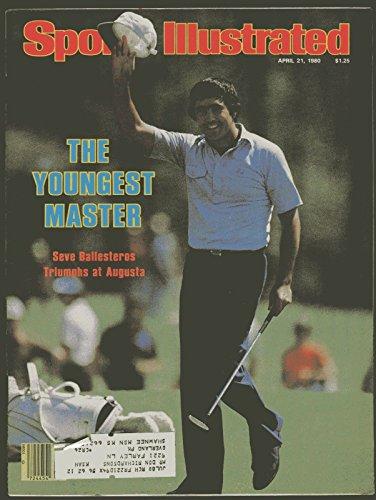 - SI: Sports Illustrated April 21, 1980 Seve Ballesteros, Golf, VG