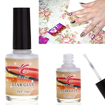 Amazon Jys365 15ml Sky Pattern Nail Art Glue For Foil Art