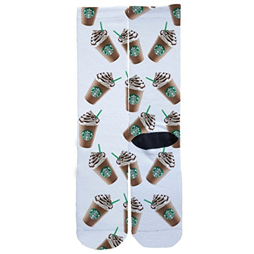 Starbucks Frap Custom Socks