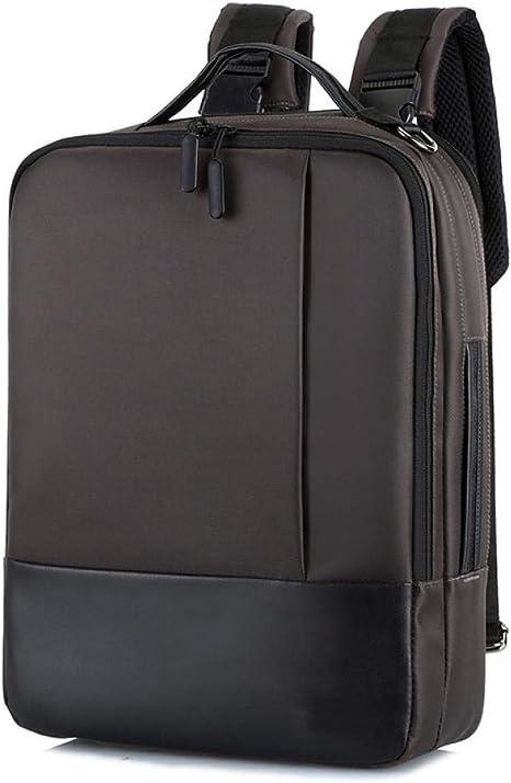 Mochila Business Anti Theft Backpack Men Smart Laptop Bagpack Cargador USB Male Shoulder Bag 15.6 Inch Notebook Pack Pack Men Bag Black Khaki: Amazon.es: Deportes y aire libre