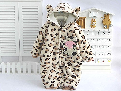 3527aa74c Baby Cute Caw Warm Cotton Winter Outfit Coat for Bodysuit Jumpsuit ...