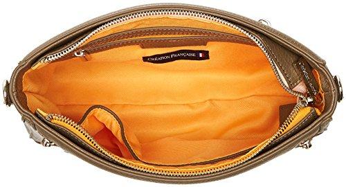 Christian Lacroix Damen Bandido 12 Umhängetasche, 6.5x18x28 centimeters Braun (Kaki)