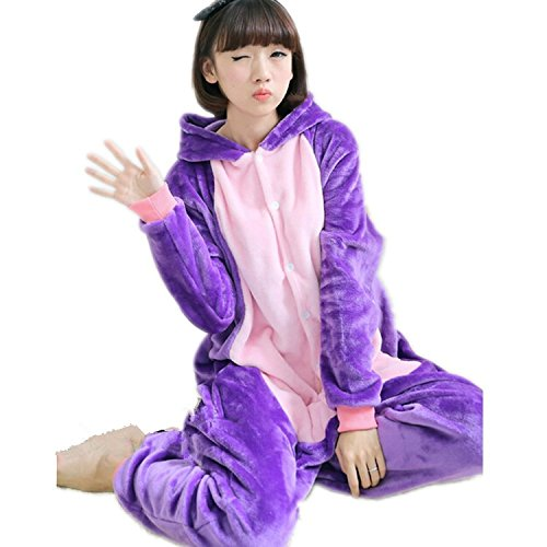 [Sailor Moon Luna Cats Cosplay Costume Animal Pajamas Sleepwear (M)] (Sailor Moon Cat Costume)