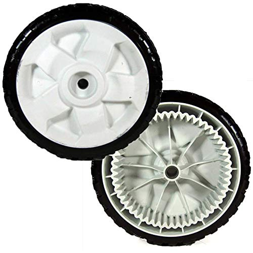 (2) Toro Walk Behind Mower Front Wheels Recycler Replaces 119-0311