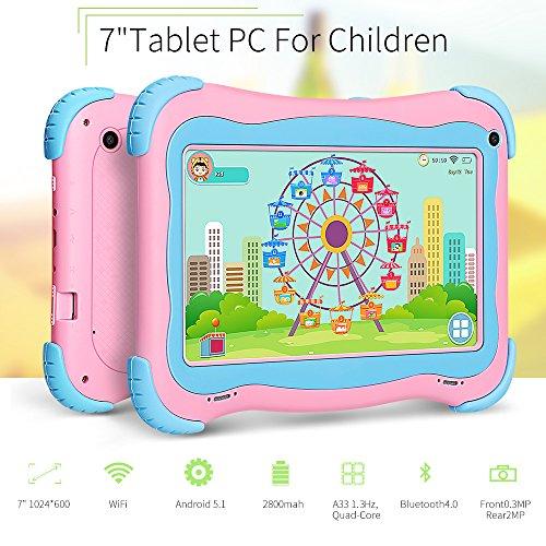 Yuntab Kids Tablet Q91 7 Inch Allwinner A33,1.3 Ghz Quad Cor