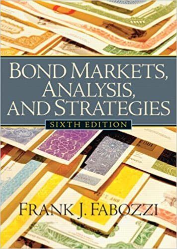 Bond Markets Analysis And Strategies 7th Edition Pdf