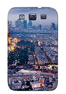 Ideal Yellowleaf Case Cover For Galaxy S3(nature Cloud Ocean Cliff Landscape City Paris ), Protective Stylish Case