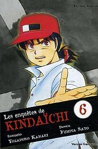 Book's Cover ofLes enquêtes de Kindaïchi tome 6