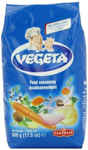 Vegeta, Gourmet Seasoning, No MSG, 17.5oz 500g bag by Podravka