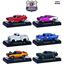 Ground Pounders 6 Cars Set Release 15 IN DISPLAY CASES 1/64 by M2 Machines 82161-15