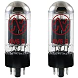 JJ Electronics T-6V6-S-JJ-MP Vacuum Tube Spiral Filament Matched Pair