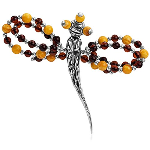 Honey-Butterscotch-Amber-Sterling-Silver-Dragon-Fly-Pin