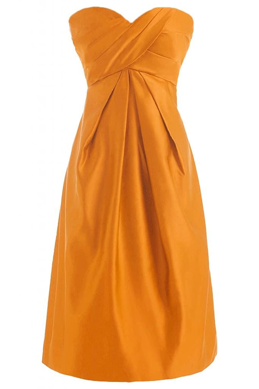 Sunvary A Line Sweetheart Homecoming Dresses Satin Short Cocktail Party Dresses