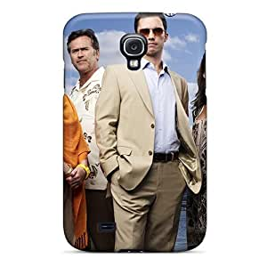 Anti-scratch And Shatterproof Burn Notice Phone Case For Galaxy S4/ High Quality Tpu Case
