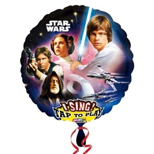 Anagram Star Wars Jumbo sing-a-tune balón plana: Amazon.es: Hogar