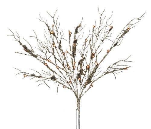 Hi-Line Gift Ltd  37385-72 72 Liter Floral Lights Coral B...