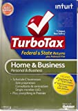 TurboTax Home and Business Federal & State Returns + E-File 2012 Win/Mac