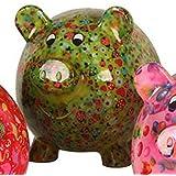 FRENCH DECORATIVE gift idea Giant piggy bank Girly B
