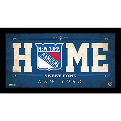 NHL New York Rangers Home Sweet Home Sign, 6 x 12