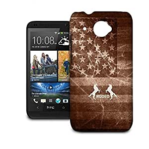 Phone Case For HTC Desire 601 - Vintage Rodeo Rustic Hard Hardshell