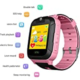 Kids Smartwatch Phone with GPS 3G Children's Smart Watch Student Gift Waterproof Smart Bracelet Touch Screen Card Insertion Calling Watch Wristband for Girls Boys