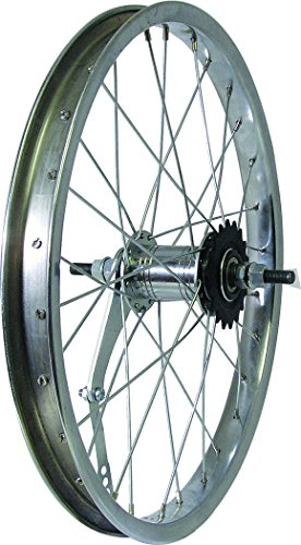 WHEEL STEEL 18'' COASTER SILVER by Action