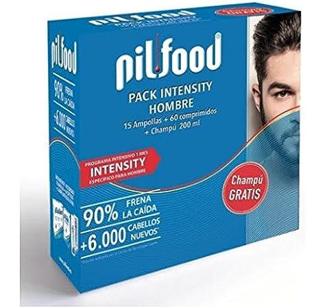 PILFOOD Pack Intensity Hombre 1 Mes(15 ampollas+60 comprimidos+ ...