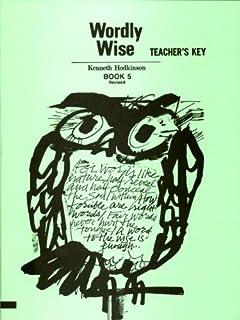 Wordly Wise: Book 5 - Teacher's Key (0838894356) | Amazon price tracker / tracking, Amazon price history charts, Amazon price watches, Amazon price drop alerts