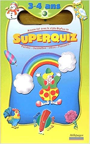 Livre SuperQuiz 3-4 ans epub, pdf